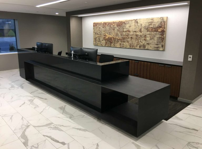 Custom Welcome Desk